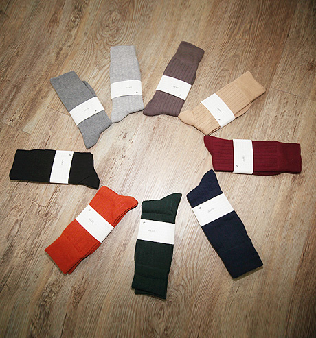 [Studio Depp]  #daily color basic socks