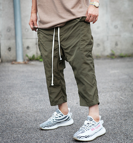 Rick nylon baggy pants (2color)