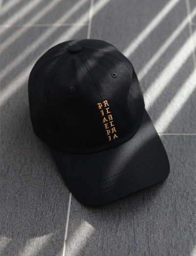 pablo gold signature ball cap (1color)