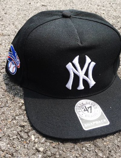 SUP x New york yankees 47 cap (2color)