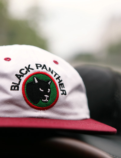 sup classic Black Panther cap (2color)