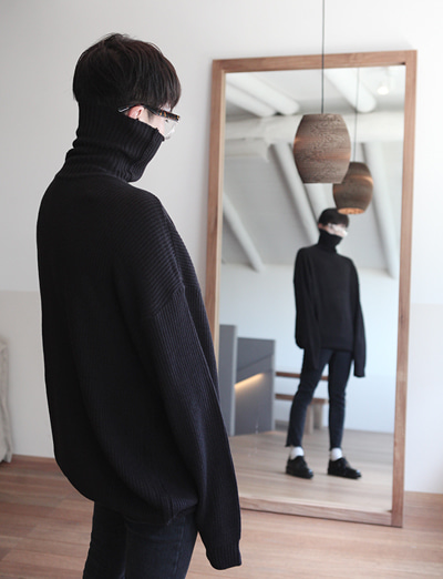 VT over fit 하찌폴라니트 (Black/5color)