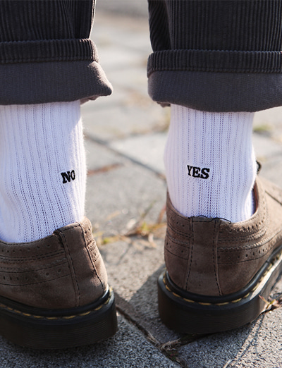 common socks [Yes No]