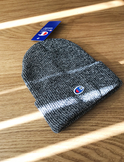 champion knit hat (1color)