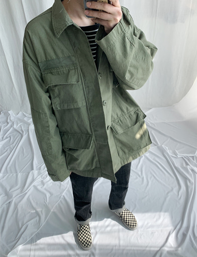 19 SS 고아웃 포켓 BDU 오버야상 (3color)