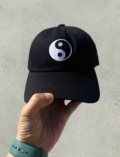 Balance ball cap (Black)