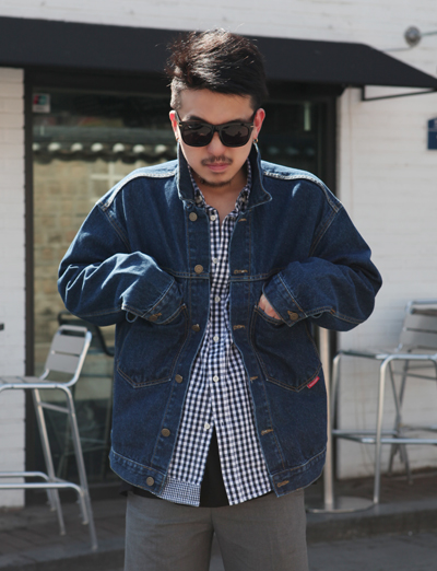 [MAGASIN]Big pocket Trucker jacket