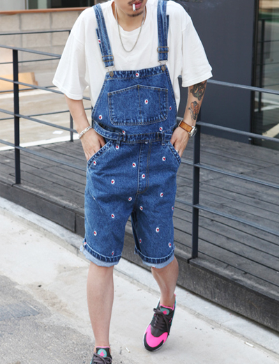 nacho denim jumpsuit